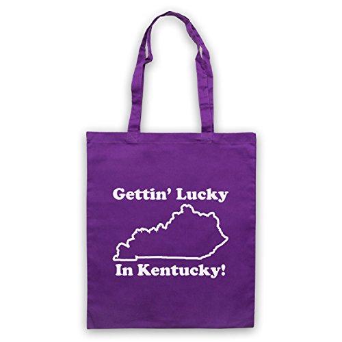 Inspiriert durch School Of Rock Gettin' Lucky In Kentucky Inoffiziell Umhangetaschen Violett