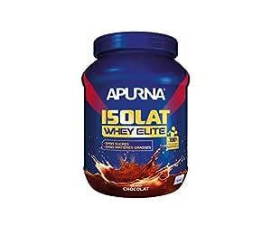 APURNA - ISOLAT WHEY ELITE CHOCOLAT - Poudre protéinée–Pour laConstruction musculaire - Made in France - 750g