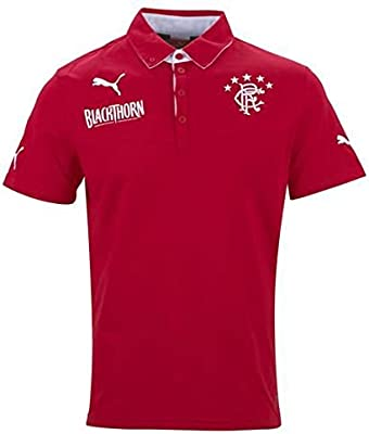 2013-14 Rangers Puma Polo Shirt (Red)