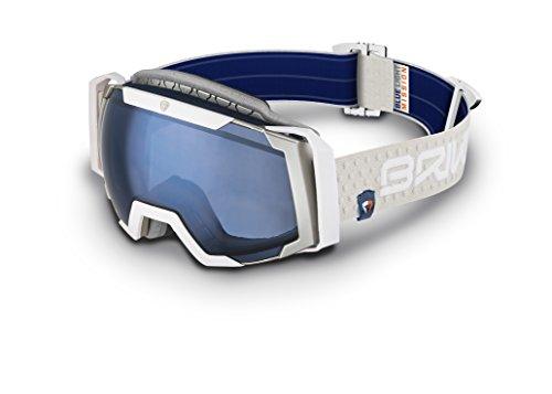 Briko SCIARA – Masque de ski unisexe Gris, Taille unique
