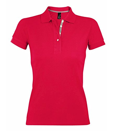 SOL'S - Polo - Femme Rouge - Rouge