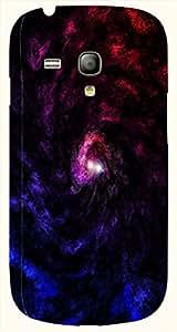 Attractive multicolor printed protective REBEL mobile back cover for S3 Mini / Samsung I8190 Galaxy S III mini D.No.N-T-2714-S3M