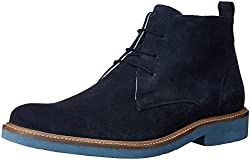 United Colors of Benetton Mens Navy Blue (901) Leather Boots - 9.5 UK/India (44 EU)