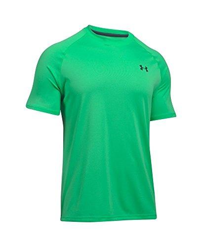 Under Armour Tech T-Shirt manches longues 1/4 zip homme Vapor Green