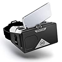 Merge AR/VR Goggles - Augmented and Virtual Reality Headset, 300 Family-Friendly Experiences, Works with iPhone or Android (Moon Grey)