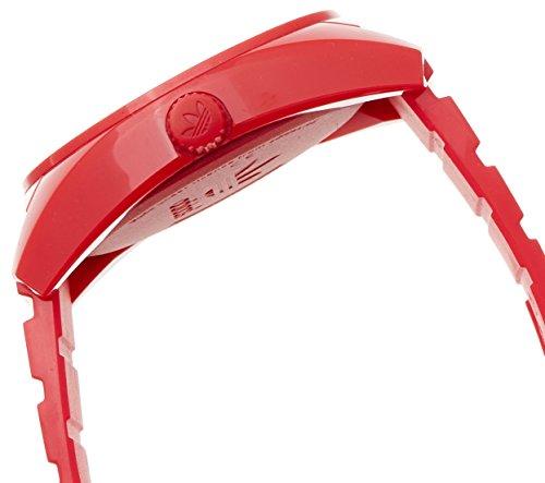 adidas-Originals-ADH2655-Reloj-analgico-de-cuarzo-para-hombre-con-correa-de-plstico-color-rojo