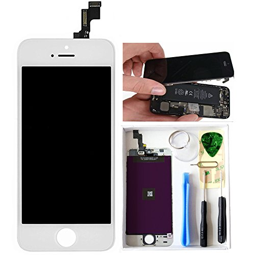 lt0220-white-iphone-5s-lcd-display-screen-touch-digitizer-assembly-replacement