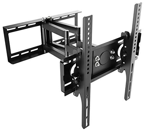 RICOO TV Wandhalterung Schwenkbar Neigbar R28 Universal LCD Wandhalter Ausziehbar Fernseher Halterung Curved 4K OLED LED Flachbildfernseher 80cm/32