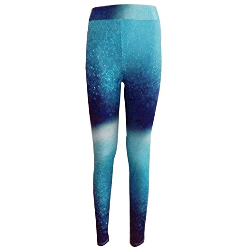 Pantalon de Sports pour femme,Tonwalk Pantalons élastiques Yoga/Workout/Gym Leggings Vert