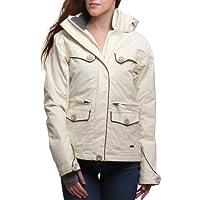 Animal Genevieve Ski Snow Jacket Antique White