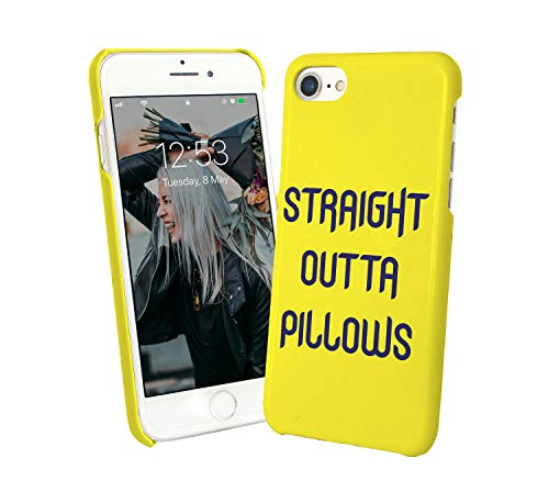 Straight Outta Pillows Quote_007189 Phone Case Cover Carcasa De Telefono Estuche Protector para For iPhone 8