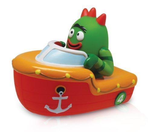 YO GABBA GABBA - Brobee Boat Squeezy Bath Toy by YO GABBA (Gabba Gabba Brobee Yo)