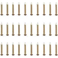 200 Polsterung Ziern/ägel 11mm Gold Gealtert Tack M/öbel N/ägel Dekorative M/öbel N/ägel
