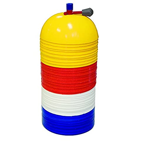 Amber Athletic Gear Dome Cone Marker Set (Pack of 40) - Blue