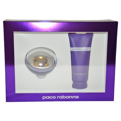 Ultraviolet By Paco Rabanne For Women (Gift Set, 80 ML)