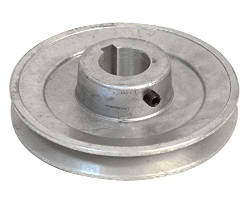 24 mm Bore Fartools 117230 Pulley Aluminium 50 mm Diameter