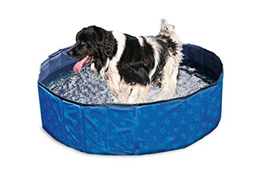 Karlie 521480 Doggy Pool Einheitsgröße, blau-schwarz