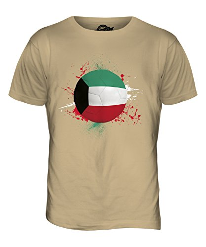 CandyMix Kuwait Fußball Herren T Shirt Sand