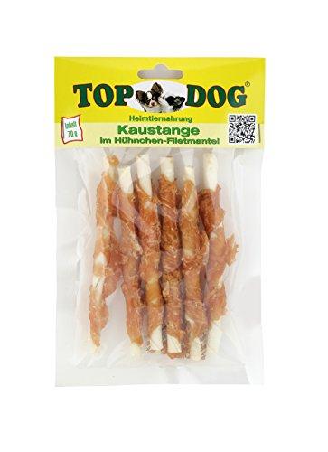 Top Dog Kaustangen im Hühnchenfiletmantel - Hähnchenbrust - Huhn in Streifen 70g
