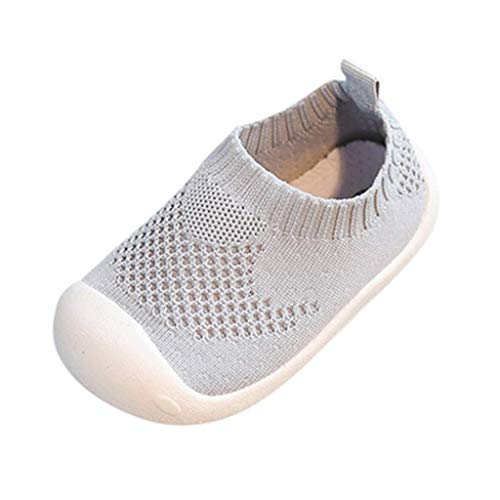 bobopai shoes for 0-5 years old kids, toddler infant kids baby girls boys candy color mesh sport running sneakers casual prewalker anti-slip socks slipper shoes (gray)