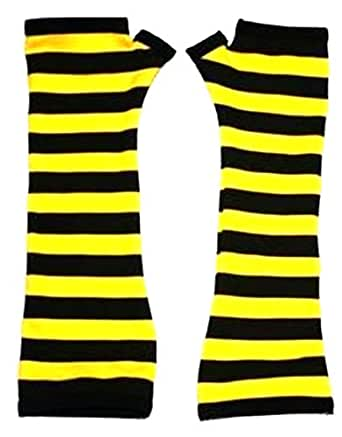 Bumble Bee Gloves (One Size Fits Most)