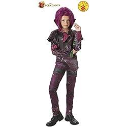 Rubie's 620374-L 'Los Descendientes' - Disfraz Mal Deluxe, para niñas, talla L (7-8 años)