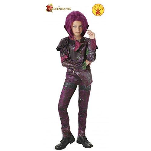 Rubie's 620374-L 'Los Descendientes' - Disfraz Mal Deluxe, para niñas, talla L (7 - 8 años)