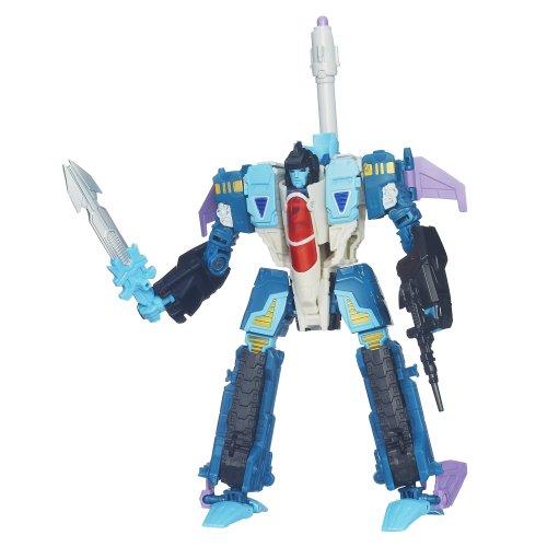 Transformers Generations Voyager Class Decepticon Doubledealer Figur zum 30. Jahrestag - 3-in-1-transformer-spielzeug