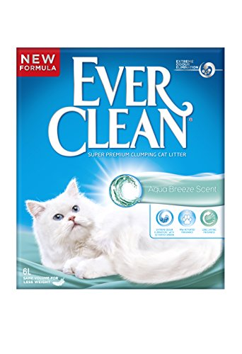 Ever Clean Aqua Breeze Lettiera per Gatti, 6 Litri