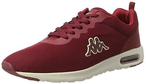 Kappa Damen Classy Sneaker, Rot (2543 Dark Red/Offwhite), 41 EU