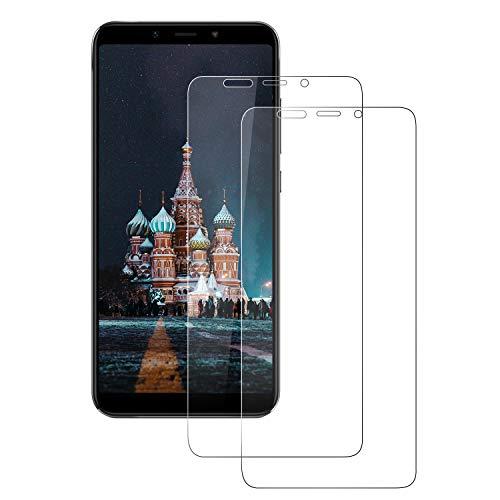 FayTun Protector de Pantalla Xiaomi Mi A2, [2 Piezas] Cristal Vidrio Templado, Anti-Arañazos, 3D-Touch, 9H Dureza Cristal Templado para Xiaomi Mi A2