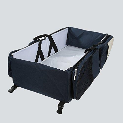 1Baby Tuch Material Reisetasche Wickeltasche Station Portable Kinderzimmer Kinderbett Klappbett