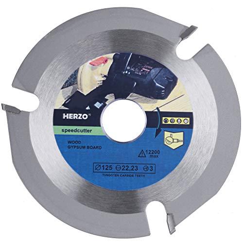 Disco Para Cortar Madera Disco Amoladora Madera para Amoladora -5 pulgadas/125mm
