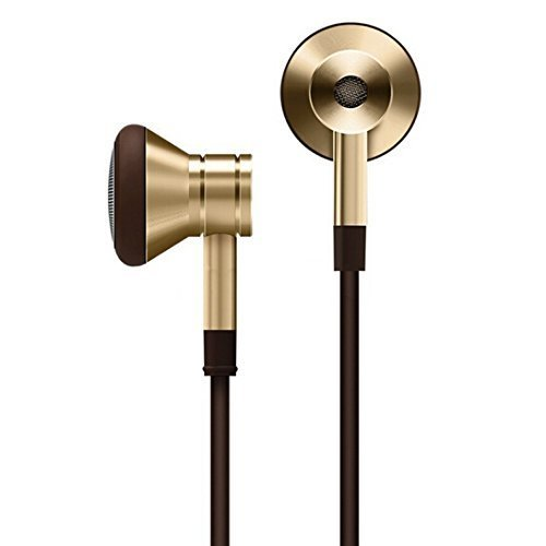1MORE E0320 Dinamico Auricolare In-ear Stereo Universale Filo con Telecomando e Microfono per iPhone iPod iPad,Android Smartphone,Tablet,MP3(Oro)