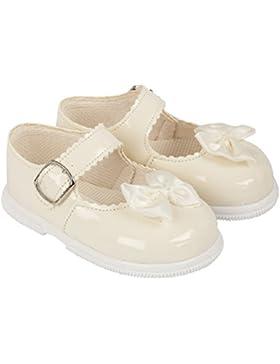Baypods Erste Walking Schuh. Harte Sohle Patent Gebrauch Baby Girl in Elfenbein, Weiß, Rot oder Pink in Größen...