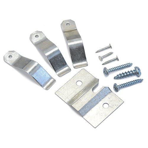 Harrows Dartscheibe Standard Montageschrauben Aufhängen Halterung Haken Set Schrauben Kit RRP £6