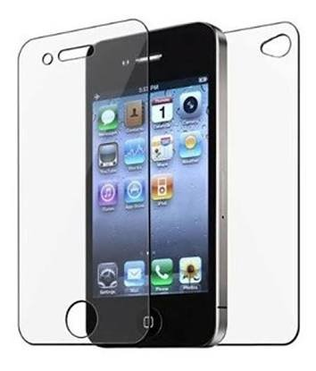 Oesis 2 IN 1 Tempered Glass Screen Guard for Apple iPhone 5 / 5C / 5S - FRONT and BACK Both Tempered