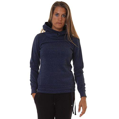 Champion Hooded Sweatshirt Community, Sweat-Shirt àCapuche Femme bleu
