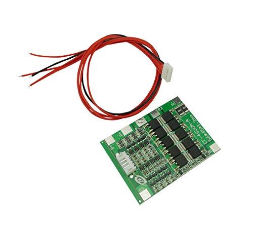 Aihasd 4S 30A 14.8V Li-Ion-Lithium 18650 Batterie BMS Akkupacks PCB Schutzbrett Balance Integrierte Schaltkreise