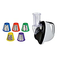 SHEFFIELD CLASSIC 99 220-Watt Electric Slicer (White & Black)