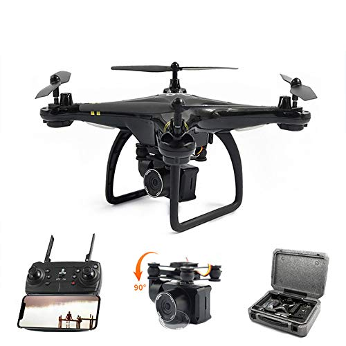 Koeoep GW168 FPV GPS RC Drone with 1080P Adjustable HD Camera Live Video WiFi Quadcopter with Altitude Hold Headless Mode 3D Flips RTF