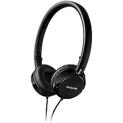 Philips FS3 - Auriculares de diadema abiertos (40 mW), negro