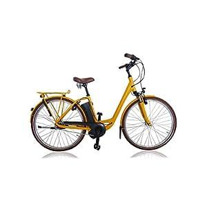 velo electrique raleigh dover impulse dutch retro jaune nexus 7 h46 vitesse max 25km h autonomie. Black Bedroom Furniture Sets. Home Design Ideas