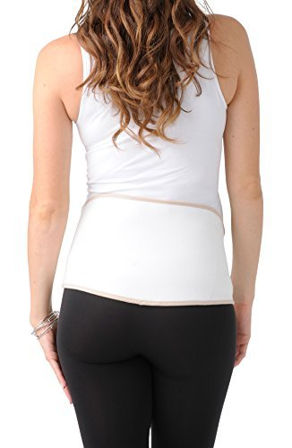 Belly Bandit Upsie Belly Support Belt Nude (mit Gelpack)(L) hautfarben