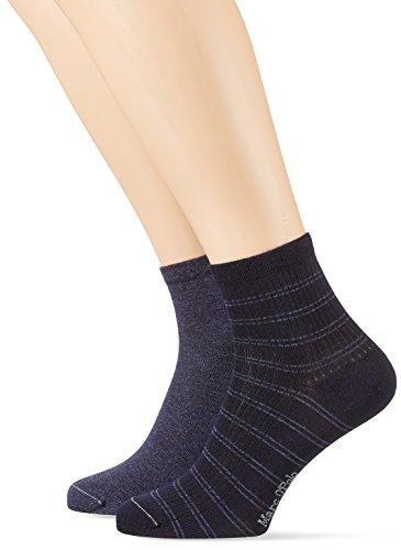Marc O´Polo Body&Beach Herren M-Socks 2-Pack, Blau (Navy 815), 39/42