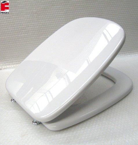 Sedile copriwater compatibile fleo dolomite f/64 bianco friges