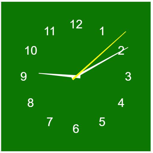 My E Clock
