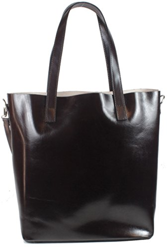 Taschentrend , Sac pour femme à porter à l'épaule Marron marron foncé marron foncé
