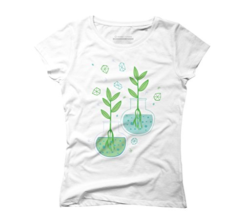 Botany Women's Graphic T-Shirt - Design By Humans White
