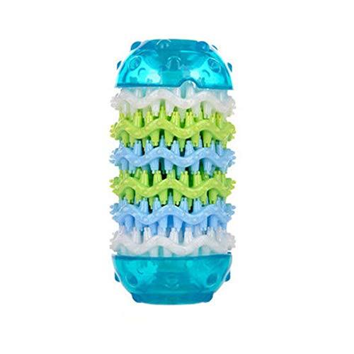 LXYU Hundekauen-Spielzeug, Ungiftiger Biss-BestäNdiger Gummibehandlung-Abgabe-Stock, Haustier-Welpen-Ausbildungszahn-Reinigungs-Spielzeug -
